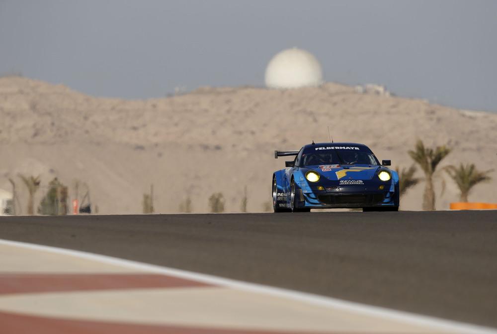 In der Klasse GTE Am stellte Ruberti den Porsche auf den 3. Startplatz