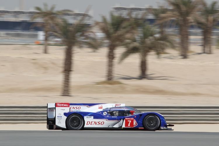 Die Hitze von Bahrain machte Toyota zu schaffen