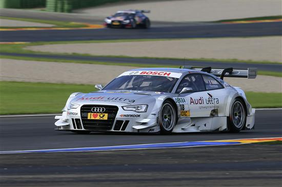 DTM 2012 Valencia: Audi Sport Team Abt mit drei Autos in den Top-10