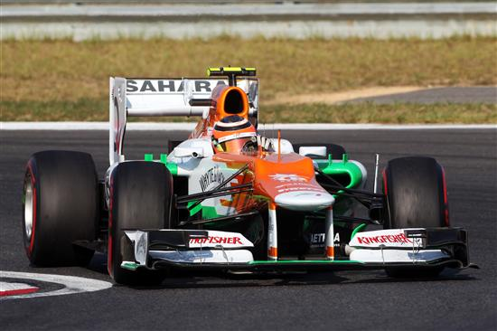 Formel 1 2012 Südkorea: Force India mit solidem Start - Longruns vielversprechend