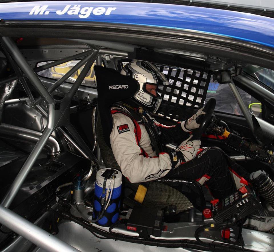 In März wird Jäger das erste Mal ins Volant des Ferrari 458 greifen