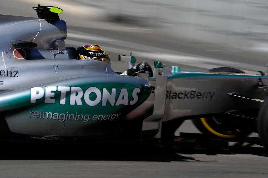 Mercedes hat definitiv einen Vorteil vom Pirelli Reifentest