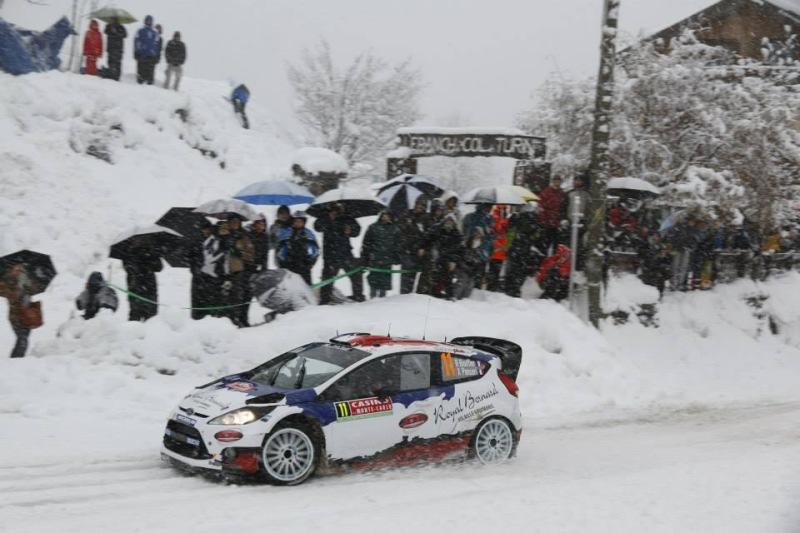 Bryan Bouffier/ Xavier Panseri bei der Rallye Schweden