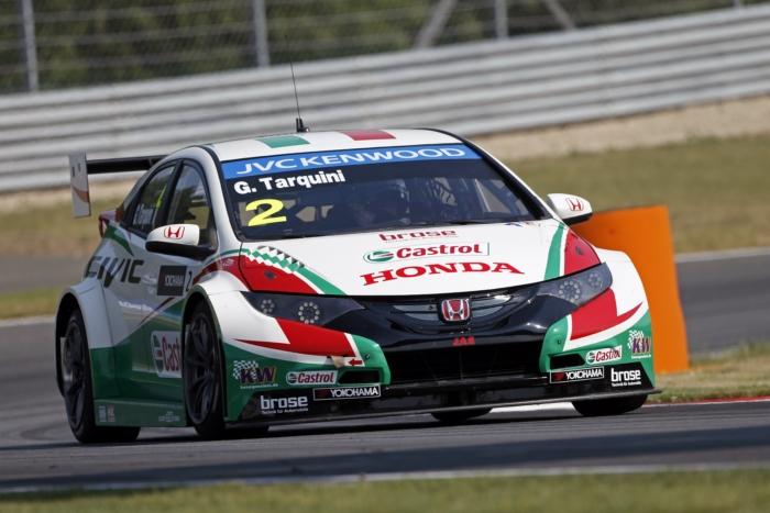 Honda hatte mit Tarquini zum ersten Mal Polechancen
