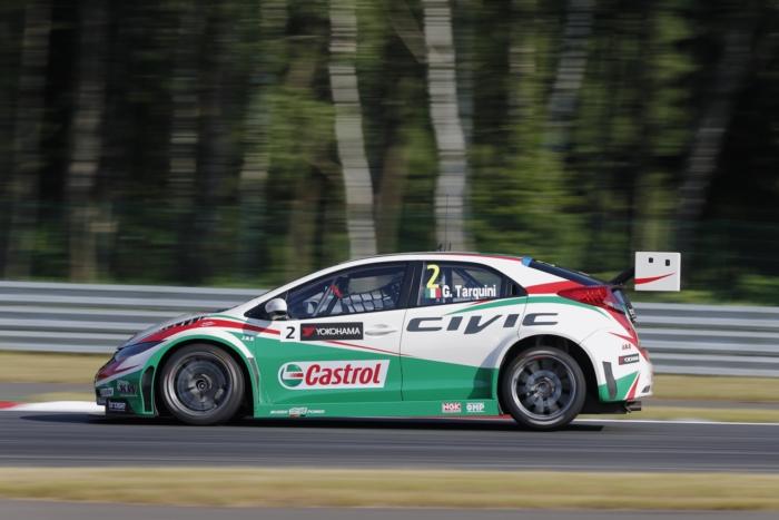Tarquini sicherte sich Platz 2