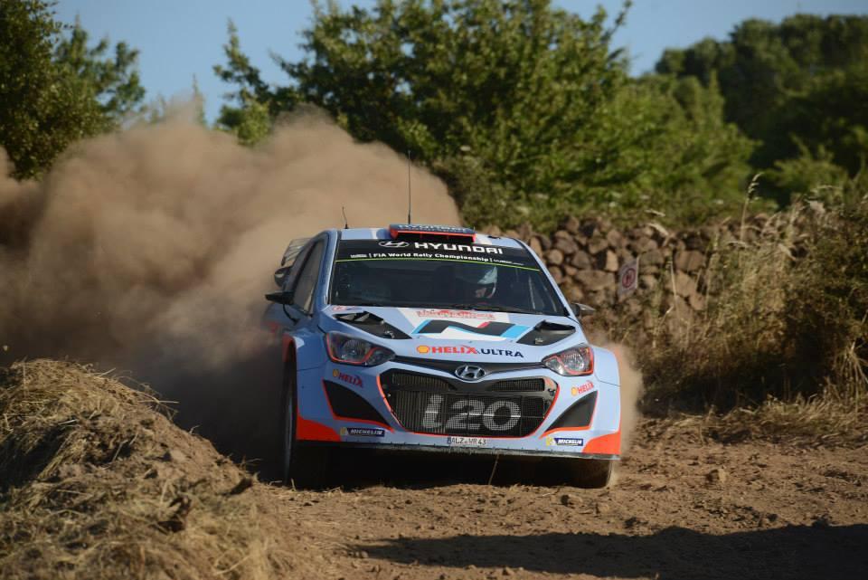 Michelin unterstützt Hyundai in seiner Premierensaison und rüstet die i20 WRC mit Reifen aus