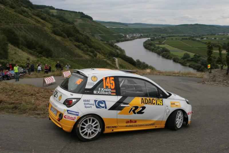 Schneller Youngster: Fabian Kreim vom ADAC Opel Rallye Junior Team