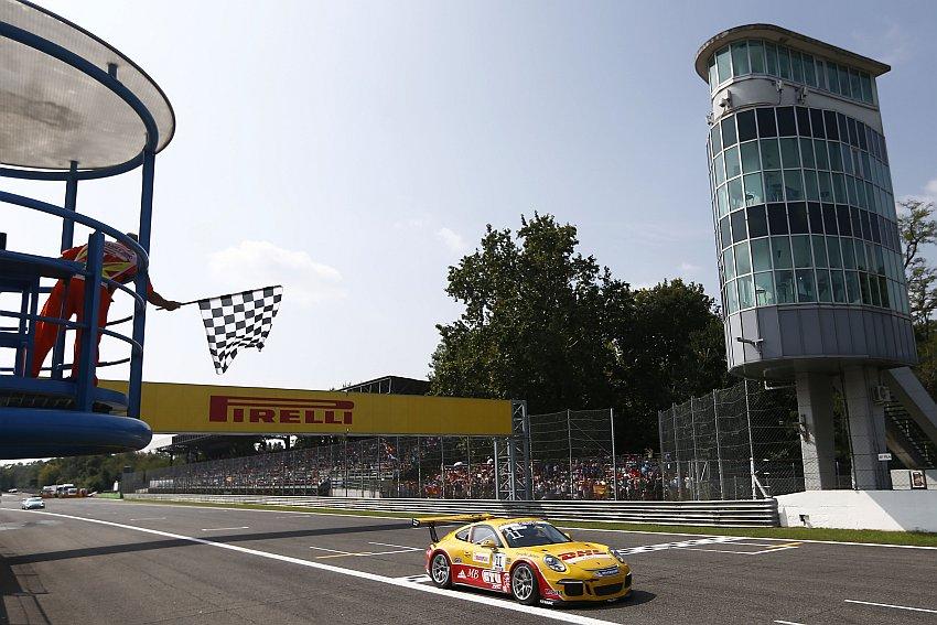 Porsche-Junior Sven Müller holt in Monza seinen ersten Sieg!