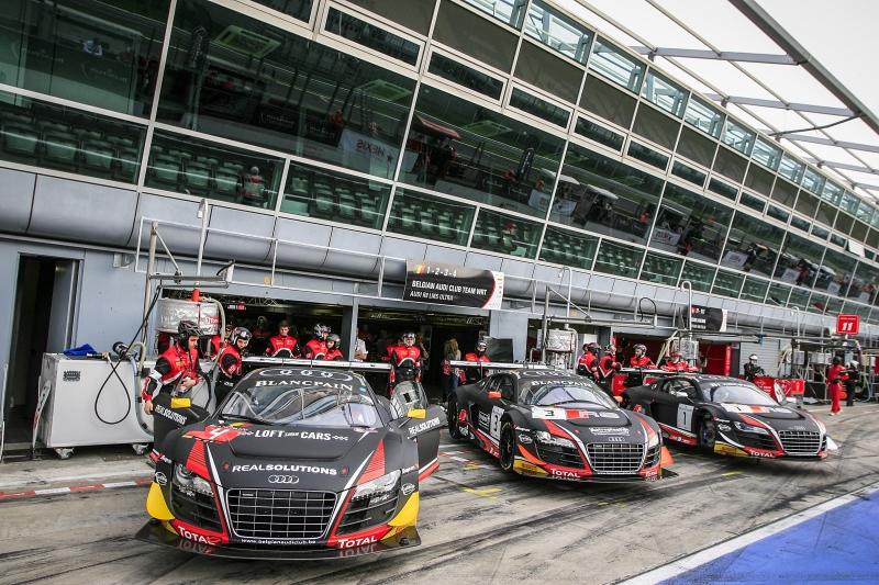 Das Belgian Audi Club Team WRT bringt drei R8 LMS ultra an den Start