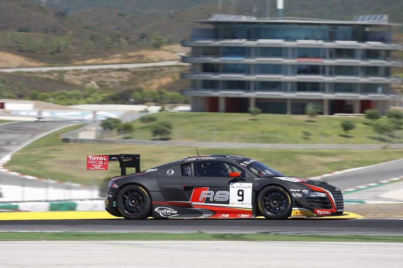 Vier Teams mit sieben GT3-Rennwagen von Audi am Start