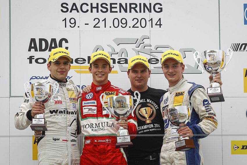 Igor Walilko erzielt erstes Podium für JBR Motorsport & Engineering beim Heimspiel