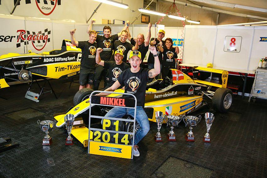 Mikkel Jensen feiert vorzeitigen Gewinn der Meisterschaft!