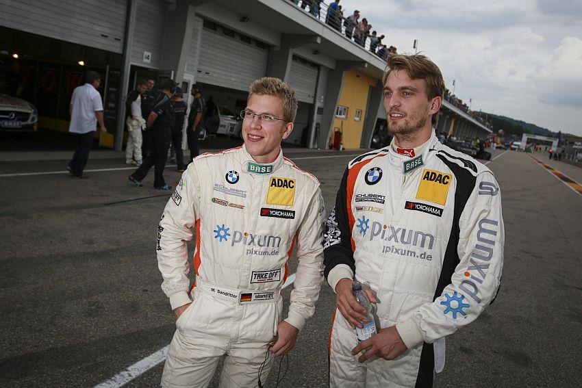 Jens Klingmann und Teamkollegen Max Sandritter (links)