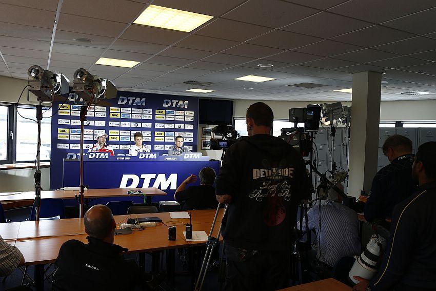 DTM Pressekonferenz mit Mike Rockenfeller, Marco Wittmann und Daniel Juncadella