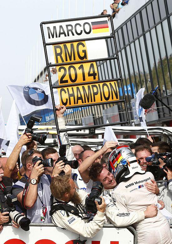 BMW Team RMG gewinnt vorzeitig die Teamwertung 2014!