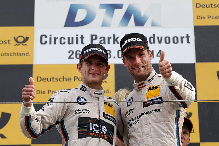 Wittmann und Tomczyk für BMW auf dem Podium