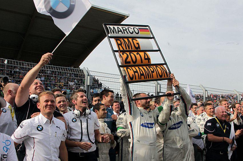 BMW Team RMG gewinnt die DTM Teamwertung 2014!