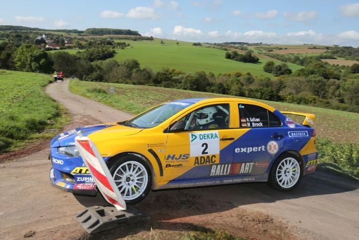 Hermann Gaßner kämpft um den Titel im ADAC Rallye Masters