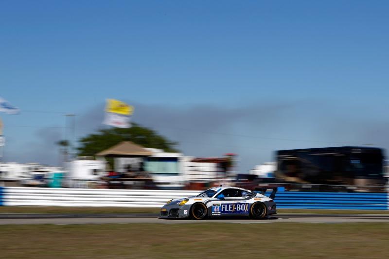 Bei dem Rennen im März startete er ebenfalls für Magnus Racing