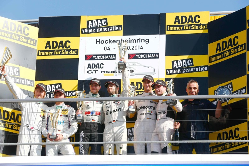 Doppelsieg beim ADAC GT Masters-Finale in Hockenheim
