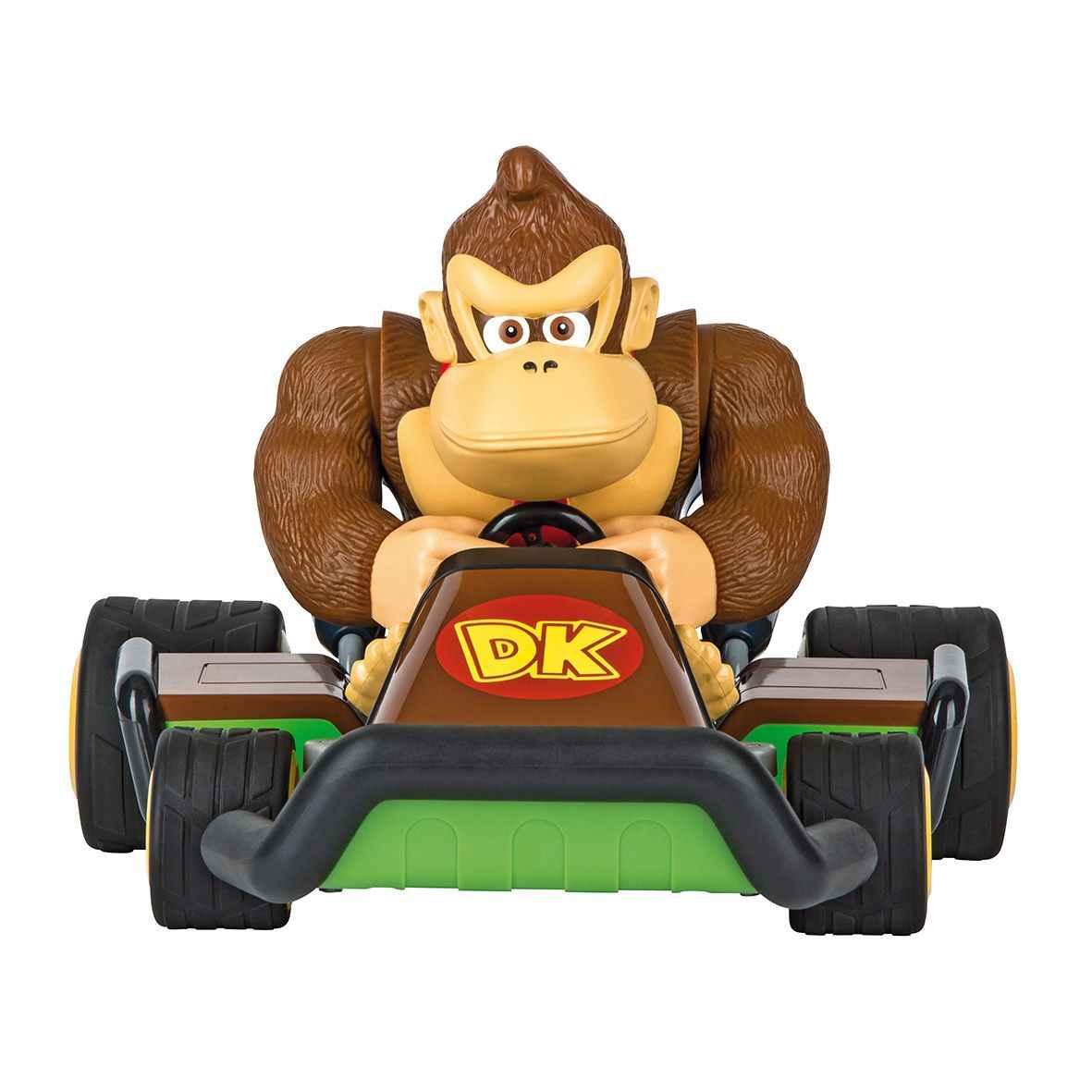 Kartfahren mit Mario und Gorilla Donkey Kong mitten im Kinderzimmer - Spass garantiert!