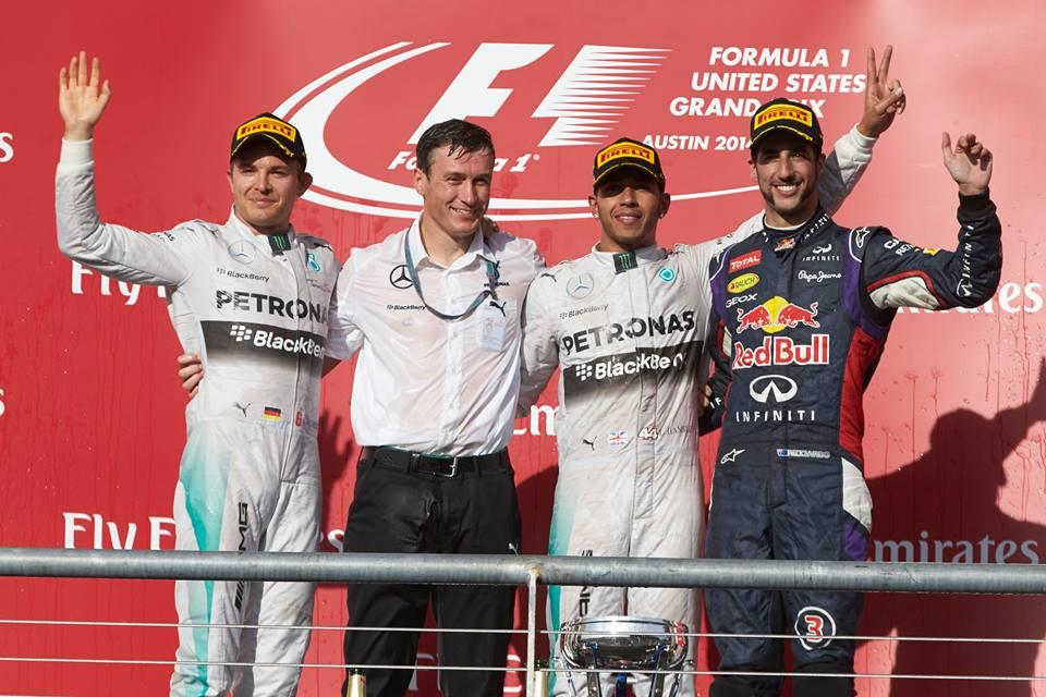 Lewis und Nico erzielten den zehnten Doppelsieg des Teams