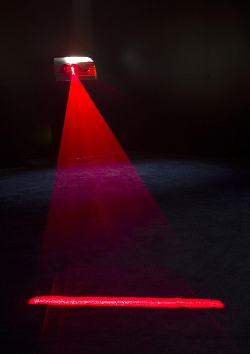 Audi entwickelt ein Laser-Schlusslicht