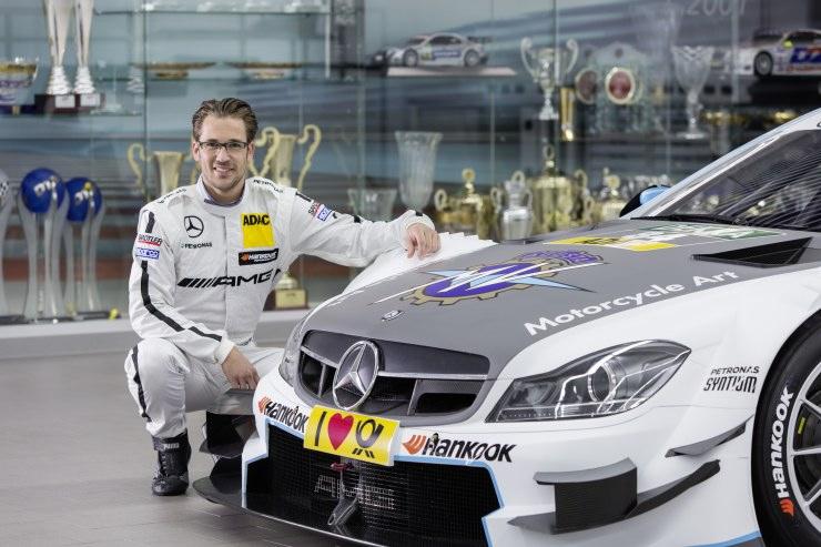 Maximilian Götz gibt DTM-Debüt im Mercedes-AMG C 63 DTM mit MV Agusta Branding
