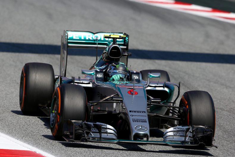 14:53 Uhr - Nico Rosberg überrundet soeben Perez, Ericsson, Nasr und Sainz