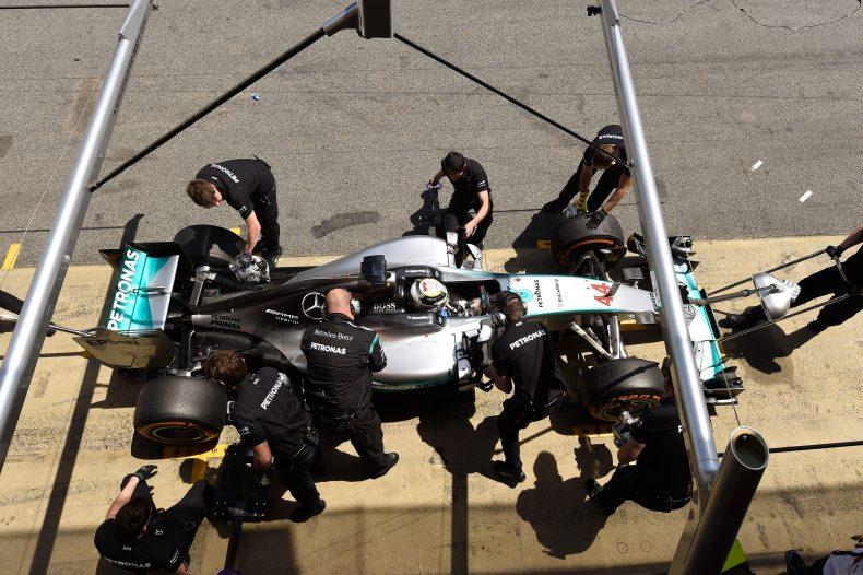 Nur noch 14 Sekunden zwischen Lewis Hamilton und Nico Rosberg!