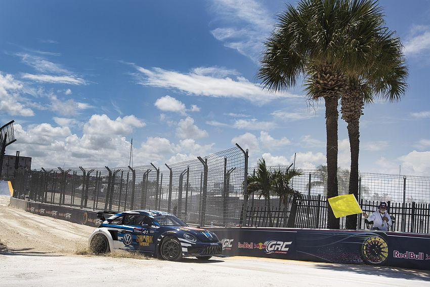 Global Rallycross: Platz zwei für Scott Speed und den Volkswagen Beetle in Florida