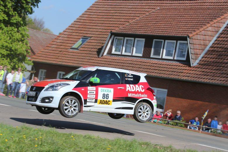 Youngster Johannes Dambach kämpft im ADAC Rallye Masters mit Routiniers um die Führung