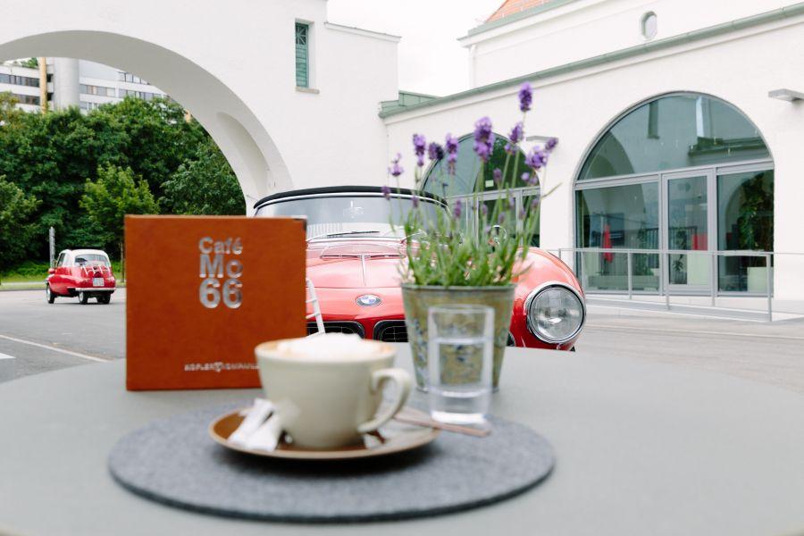 Die neue Heimat der BMW Group Classic. Café