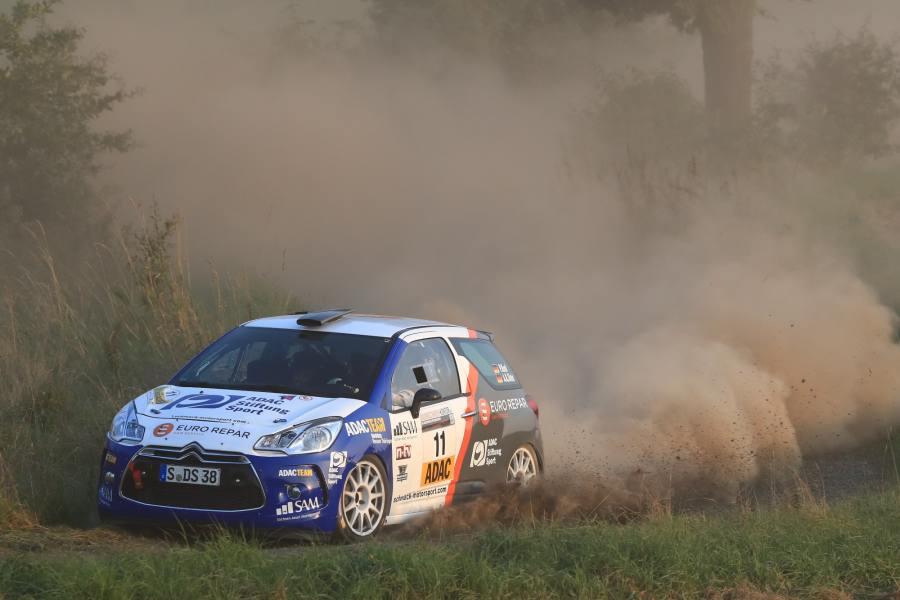 Kämpft um den Titel in der 2WD-Wertung: Philipp Knof im Citroen DS3 R3T