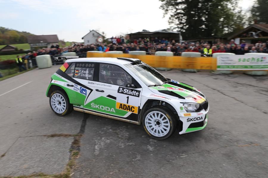 Förderpilot der ADAC Stiftung Sport und Deutscher Rallye-Meister: Fabian Kreim