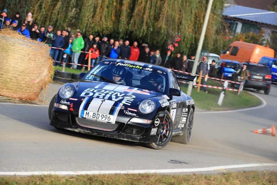 Schnellster beim Finale: Ruben Zeltner im Porsche 911 GT3
