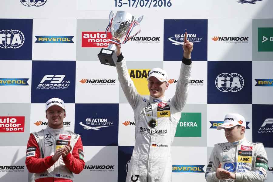 Maximilian Günther ADAC Junior-Motorsportler des Jahres