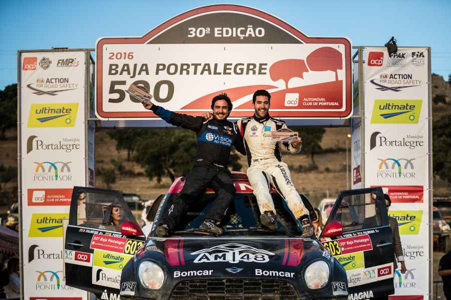 FIA Cross Country World Cup: Sieg für den MINI ALL4 Racing beim Saisonfinale 2016, der Baja Portalegre 500