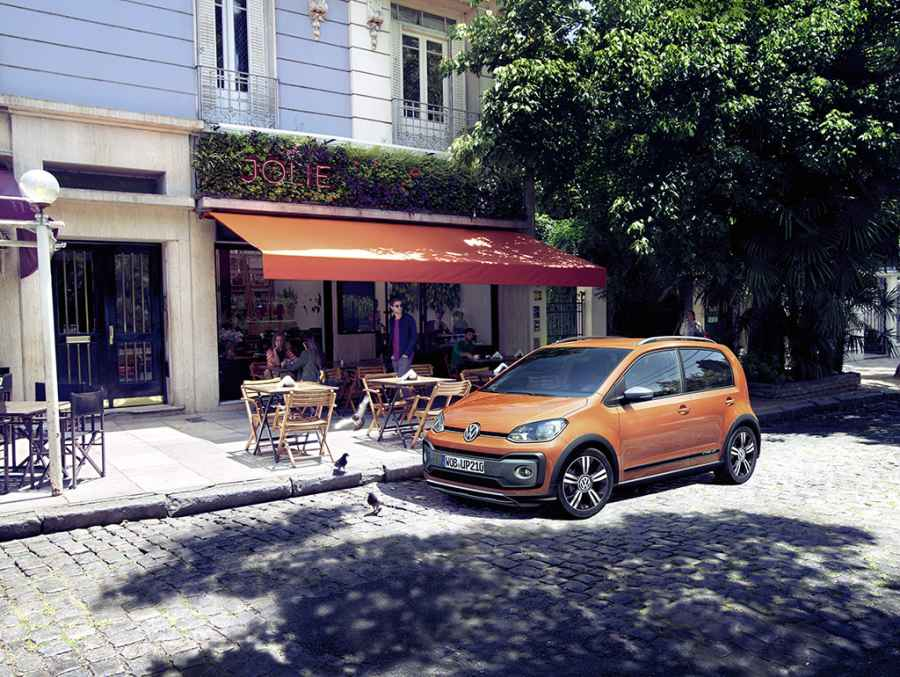 Volkswagen Cross-Up ab sofort bestellbar