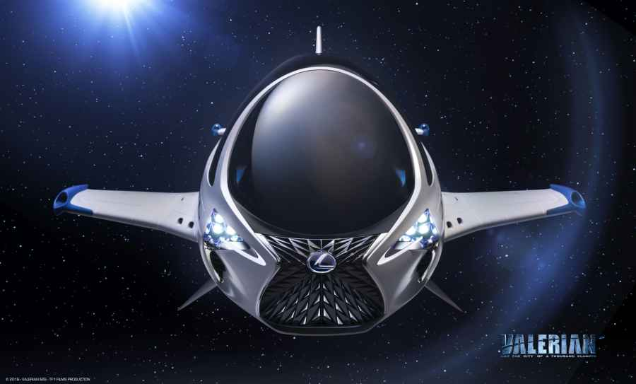 Lexus entwirft Skyjet für Science-Fiction-Film