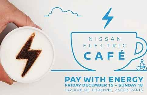 Electrify the World: Nissan eröffnet Electric Cafe in Paris