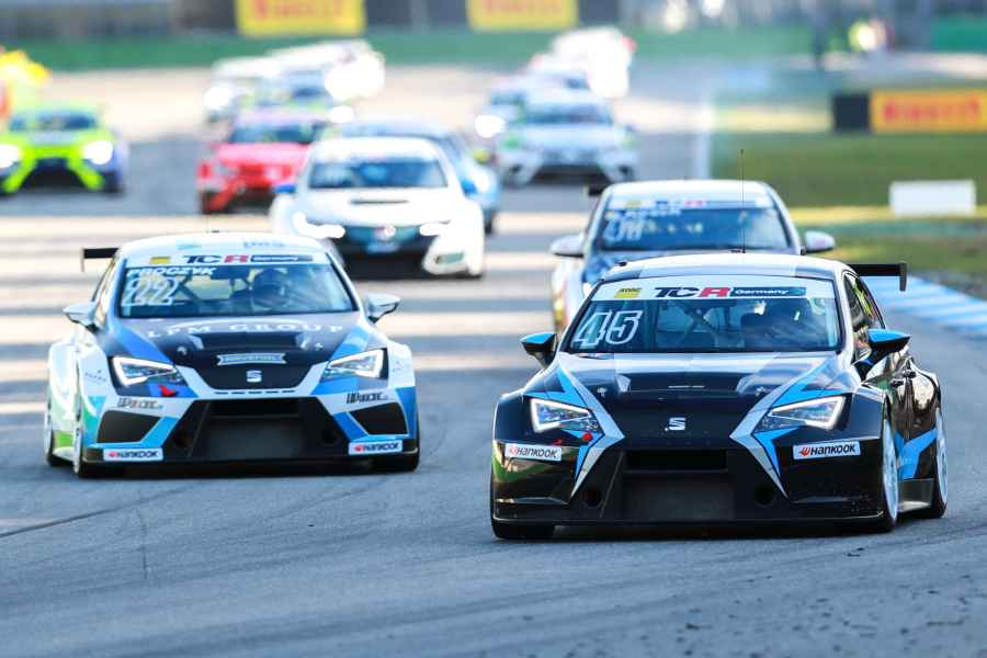 ADAC TCR Germany: Simon Larsson dritter Fahrer bei Target Competition
