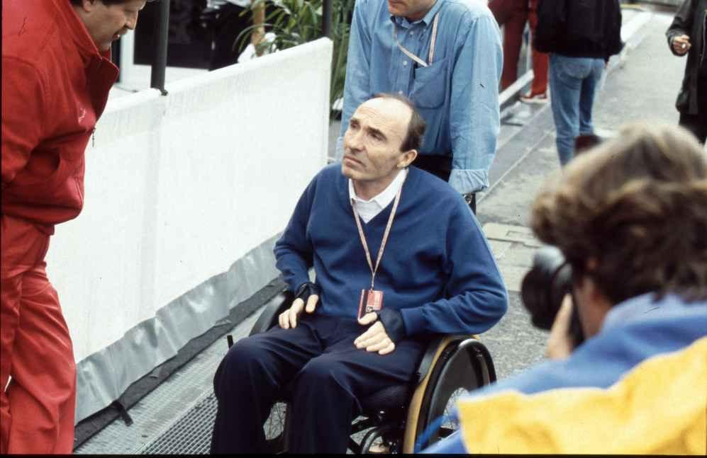 Frank Williams ist seit seinem Unfall 1986 an den Rollstuhl gefesselt