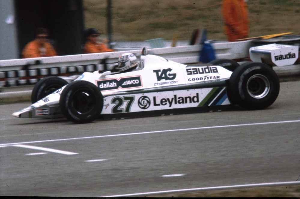 Alan Jones wird 1980 Weltmeister im FW07
