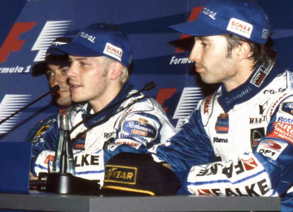Villeneuve wird Champion 1997 Frentzen ist Vize Champion