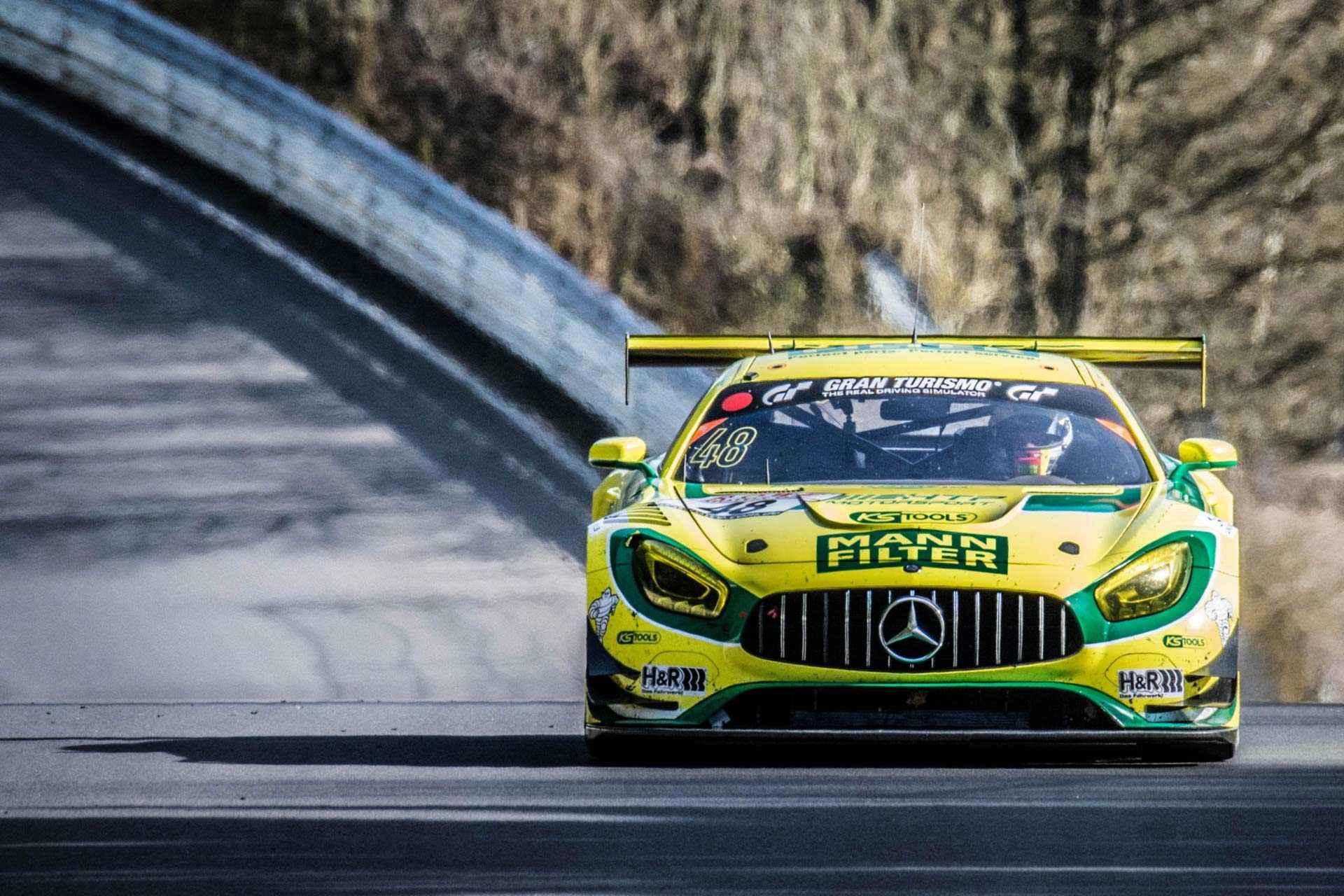 Imposantes Teilnehmerfeld auf der Grand-Prix-Rennstrecke im italienischen Monza