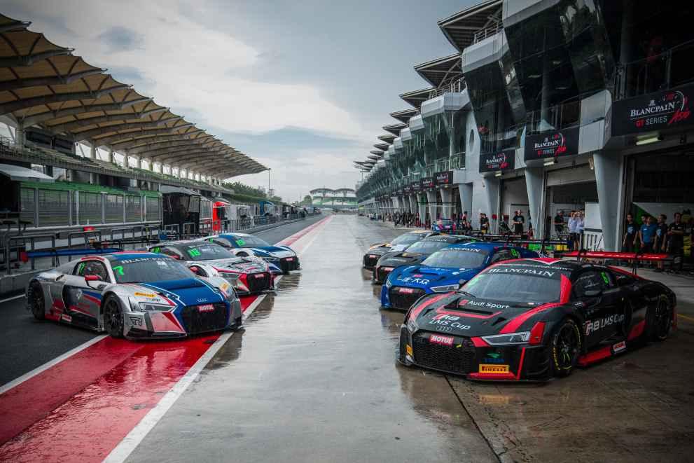 Rennsport in Asien als vielversprechender Markt für Audi Sport customer racing