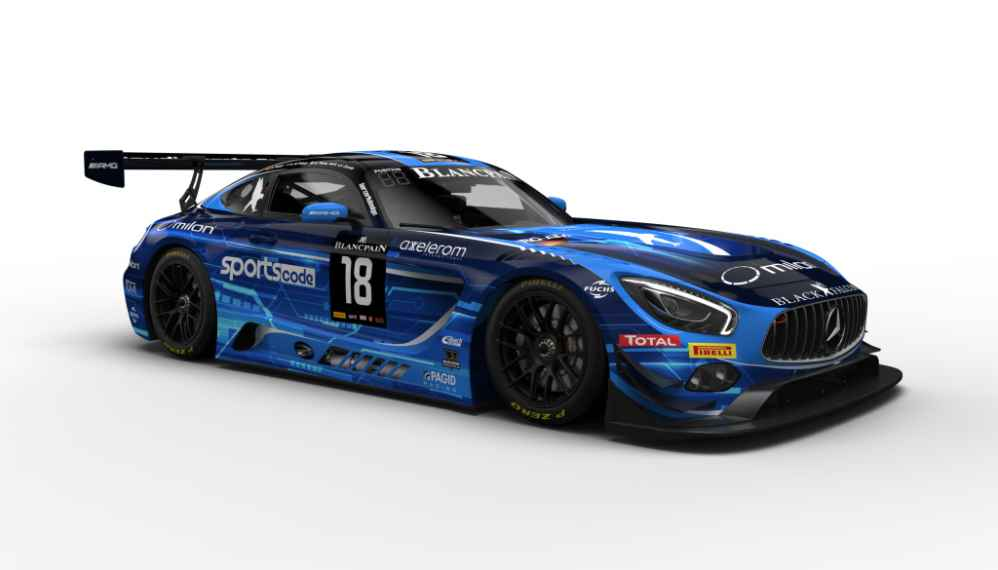 Drei Mercedes-AMG Performance Teams mit AKKA ASP, BLACK FALCON und HTP Motorsport
