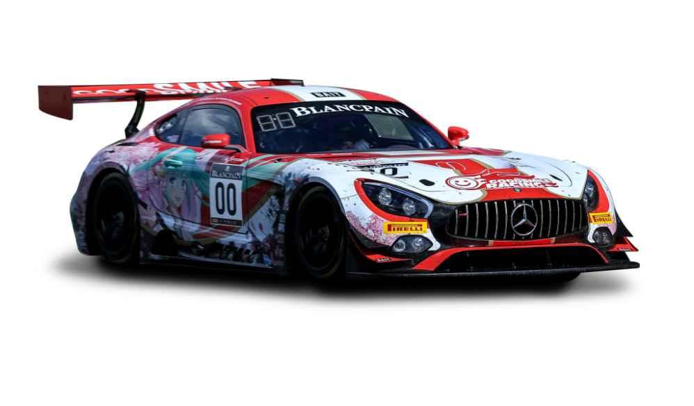 Vorstellung des Mercedes-AMG GT4 in Spa