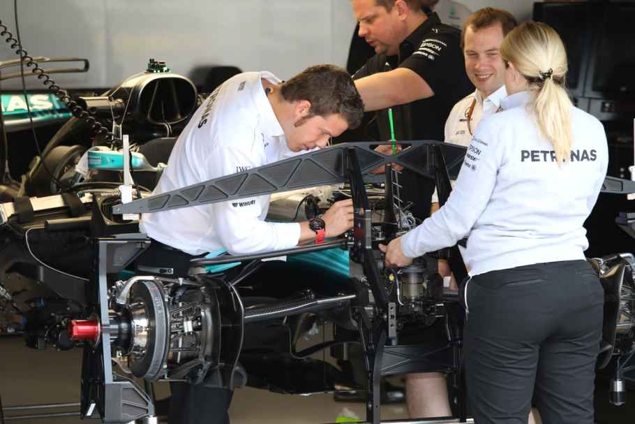 Optimale technische Vorbereitung bei Mercedes